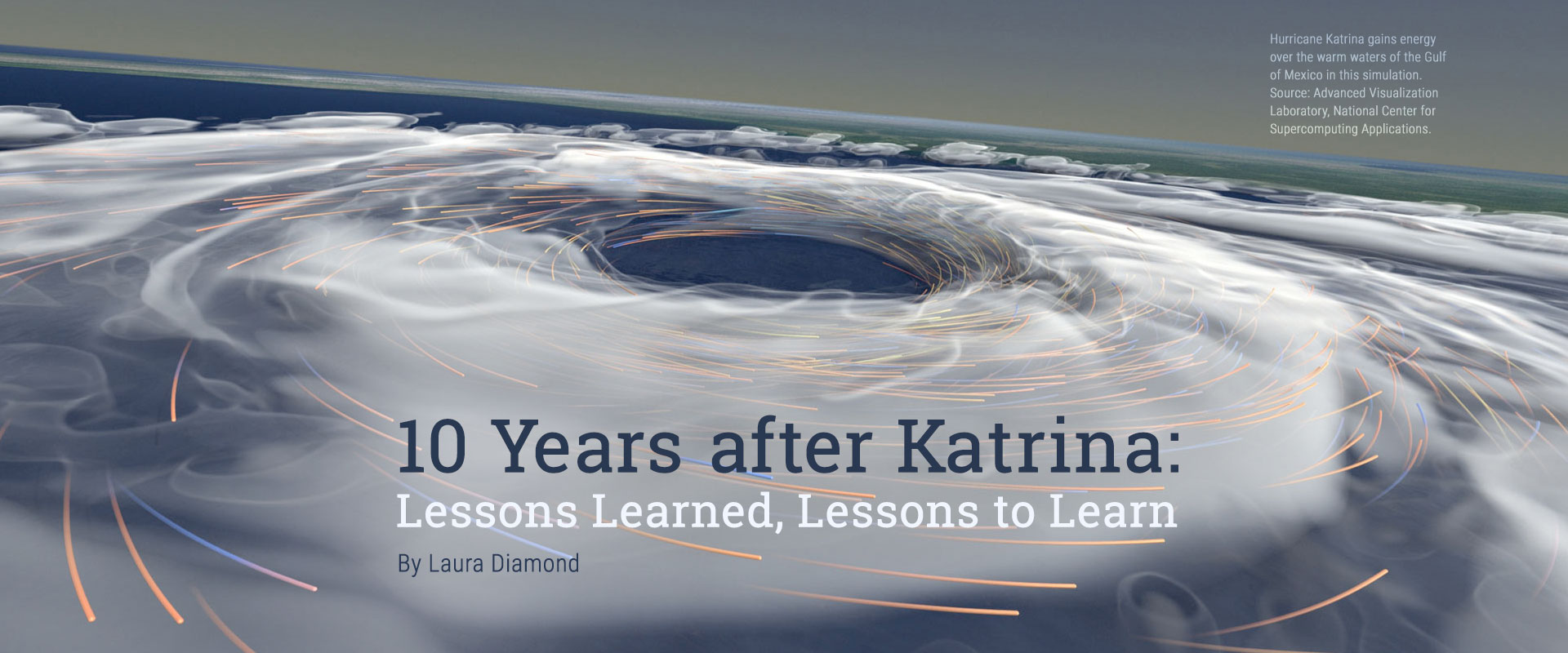10 Years after Katrina: Lessons Learned, Lessons to Learn - By Laura Diamond
