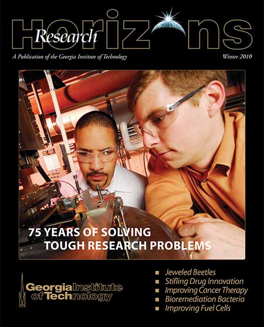 Georgia Tech Research Horizons - Issue 3, 2010