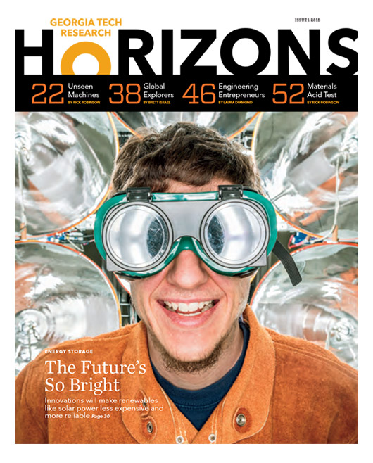 Georgia Tech Research Horizons - Issue 01 2015