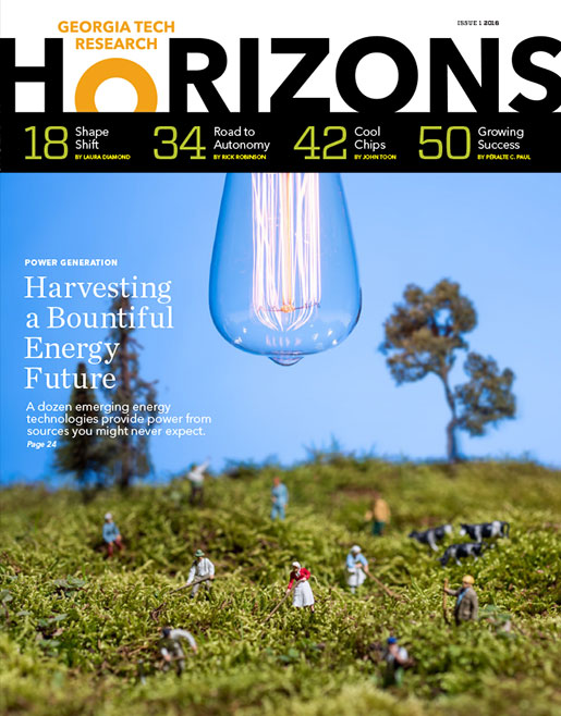 photo - cover of Issue 1, 2016