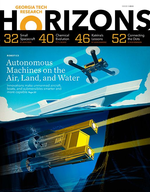 photo - cover of Issue 3, 2015