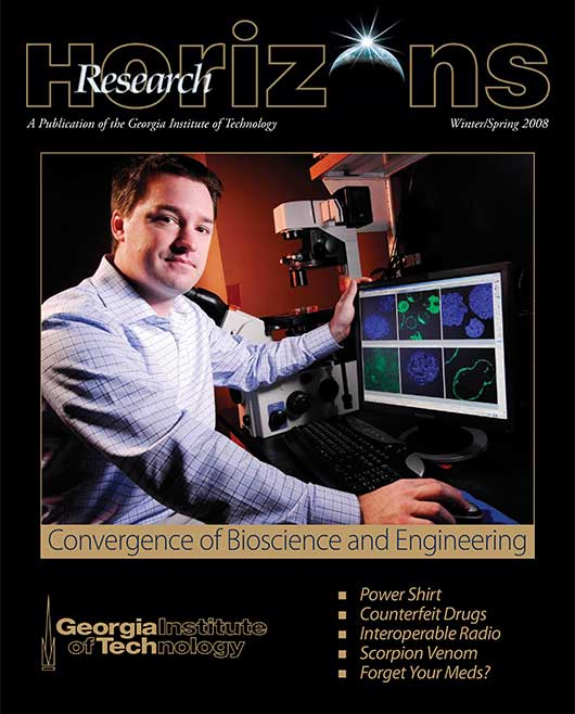 Georgia Tech Research Horizons - Issue 1, 2008