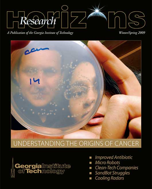 Georgia Tech Research Horizons - Issue 1, 2009