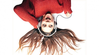 photo - woman with headphones