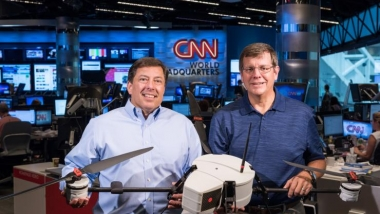 UAV in CNN World Headquarters