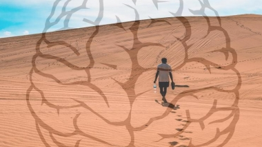 Illustration for dehydration and the brain
