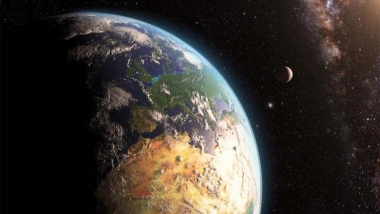 Artist rendering of early Earth (Photo credit: NASA)