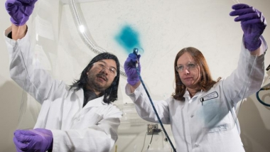 Creating films of electrochromic polymers