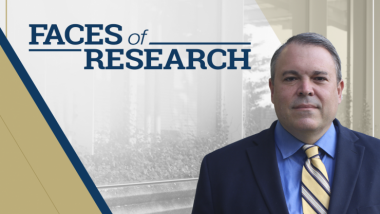 Faces of Research - Eric Vogel