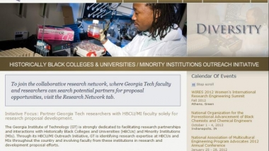 Georgia Tech Research Partnership Network website