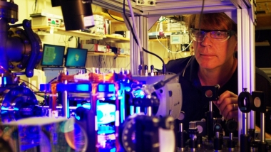 Microwave control of quantum systems