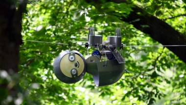 SlothBot operating in Atlanta Botanical Garden - 2