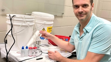 Robert Harris, a Georgia Tech Research Institute (GTRI) engineer is exploring ways to put UV technology to good use — including UV water disinfection