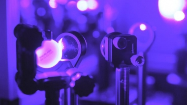 Visible laser to study semiconductor properties close up