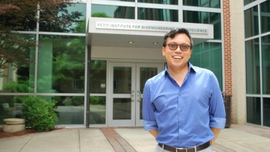 Wilbur Lam, M.D., Ph.D. is part of a research center, funded by the National Institutes of Health, that will develop and translate microelectronics-based point-of-care (POC) technologies for patient care.