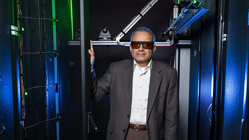 Yogendra Joshi in Georgia Tech's data center simulator