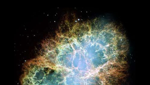 the crab nebula (image courtesy of Nasa)