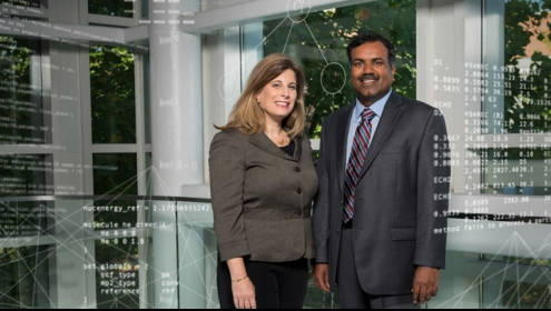 photo: Dana Randall and Srinivas Aluru