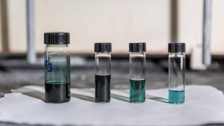 Polymer ink in chloroform