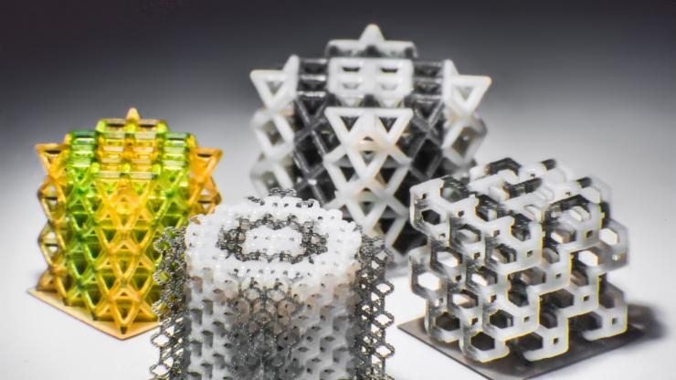 Multi-material 3D Printed Objects