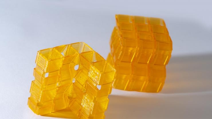 Origami Structures Created Through 3D Printing