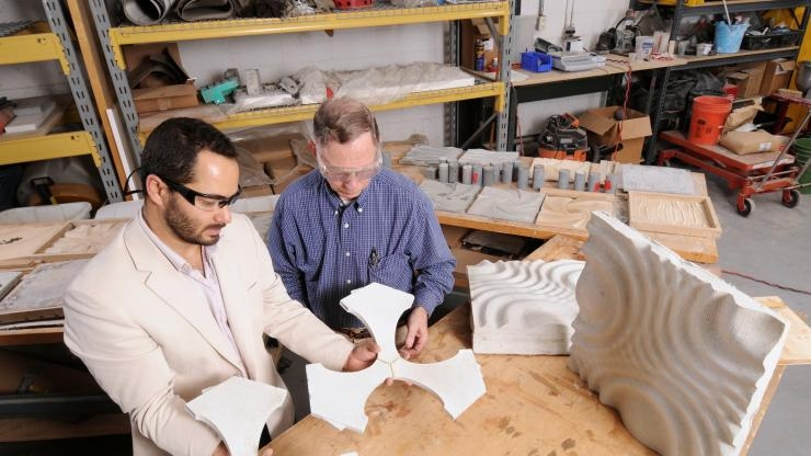 Research Horizons - Adv Manufacturing -  examine architectural cladding prototypes