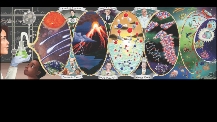 NSF Center for Chemical Evolution banner