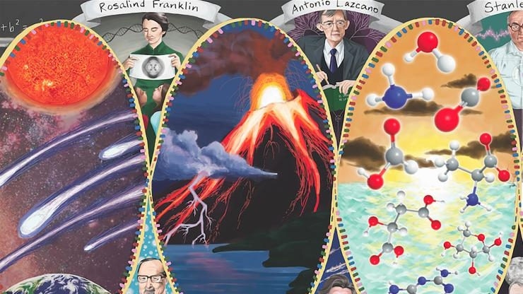 NSF/NASA Center for Chemical Evolution banner partial