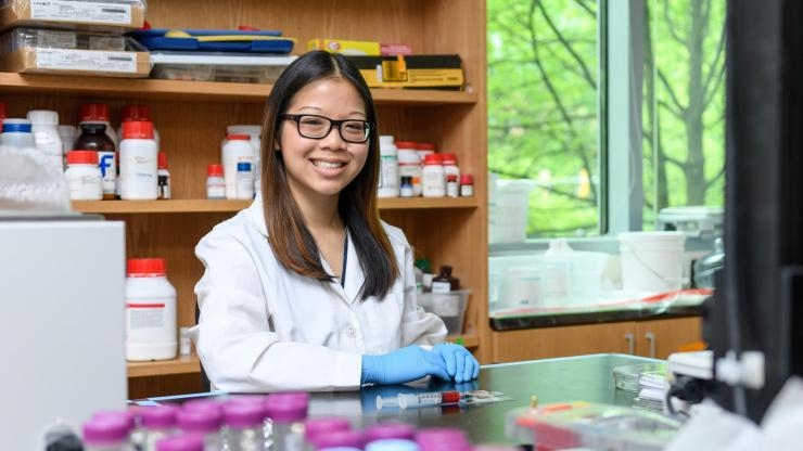 NSF Graduate Research Fellow Anna Liu