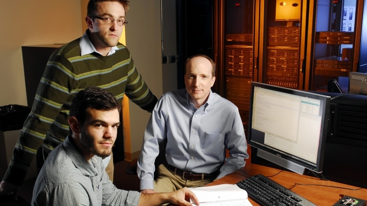 Research horizons - Tackling CyberThreats - investigated the GPU threat to password security,