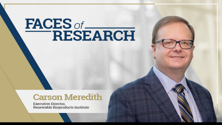Faces of Research - Meet Carson Meredith