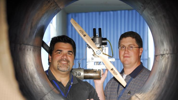 Research Horizons - GTRI at 75 - wind tunnel