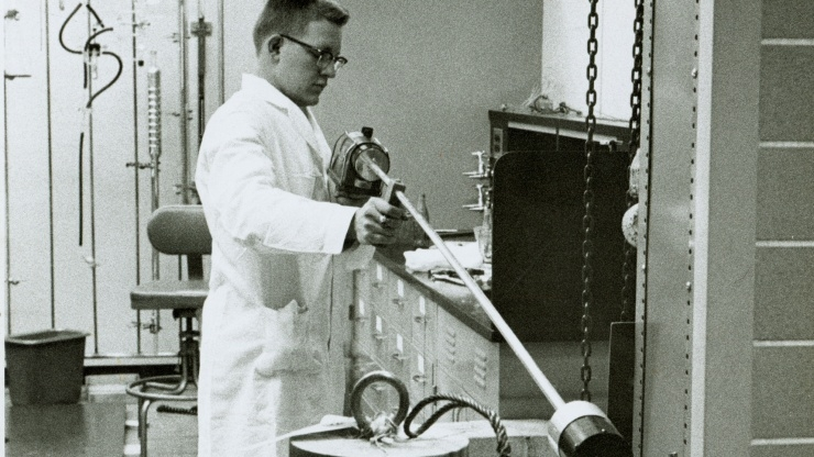 research Horizons - GTRI Past - Radioisotopes and Bioengineering Laboratory