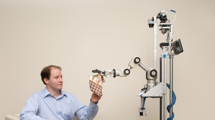 Research Horizons - Med Device - EL-E Robot