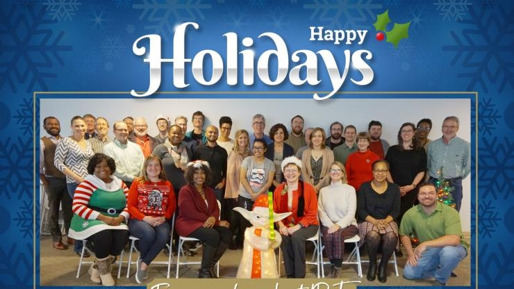 Happy Holidays from the Institute for People and Technology