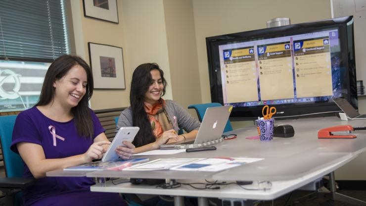 Maia Jacobs and Aditi Dhar of MyPath 2