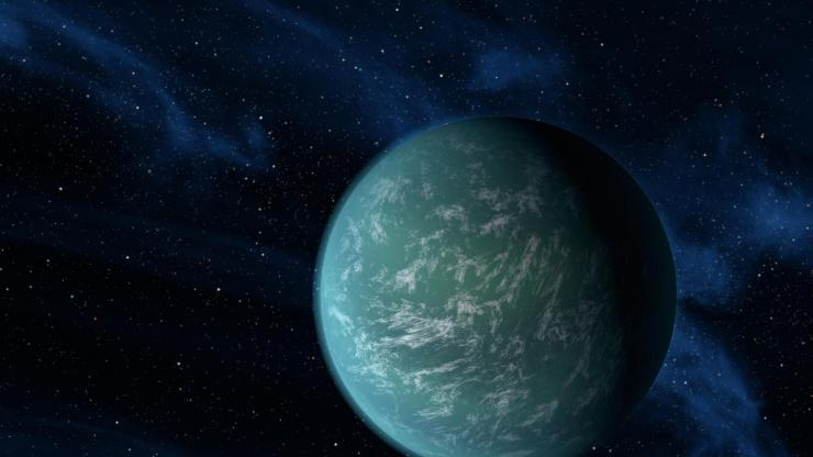 Exoplanet Kepler 22b artist's depiction