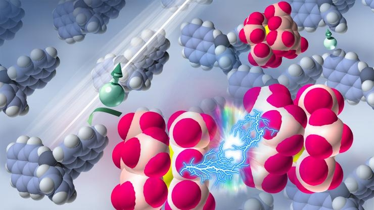 N-doping of a semiconductor with the aid of ultraviolet light