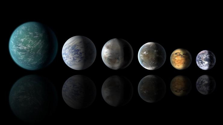 Exoplanets NASA depictions