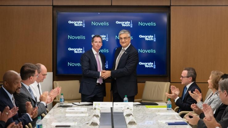 Novelis CEO and Georgia Tech EVPR