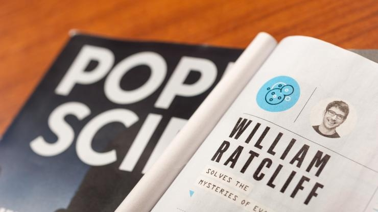 Popular Science honors Will Ratcliff