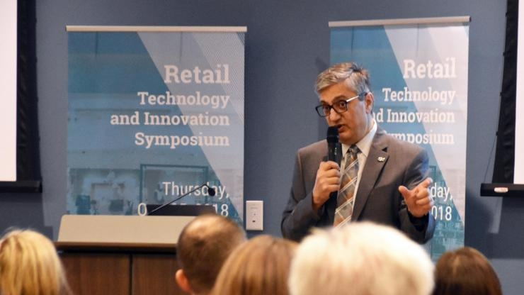 Chaouki Abdallah at ATDC Retail Tech