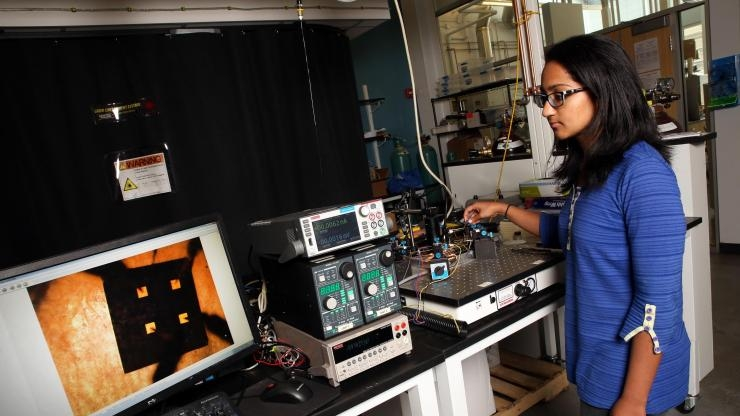 Testing thermoelectric film