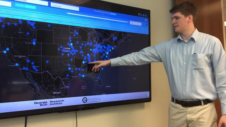 Demonstrating U.S. News Map2